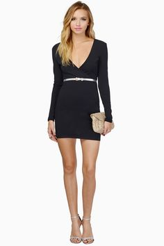 bb6067f65c6 2014 Casial Women Shopping Deep V Neck Long Sleeve Solid White Bodycon  Pencil Dress New Vestidos