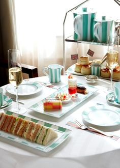 "Afternoon Tea at the Claridge in London - 2011 Tea Guild Award for ""Best London Afternoon Tea""."