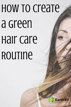 There are some great tips in here on how to make your hair care routine more sustainable. I know looking at the ingredients list on my shampoo that there are a lot of chemicals in them that seem to be a mystery. DIY hair care seems like a much better idea.