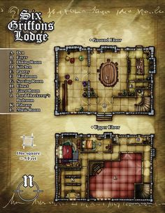 Six Griffons Lodge by *butterfrog on deviantART