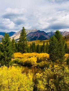 Autumn Boulder Mountains Sun Valley Idaho-Susan Meldrum