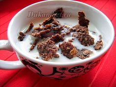 musli z ovesných otrub - Müsli s kakaem | Dukanova dieta