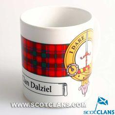 Dalziel Clan Crest Mug: