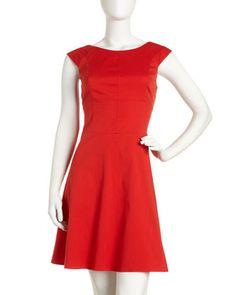 Cap-Sleeve Dress by Marc New York