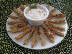 Jalapeno Fries with Bacon Chipotle Ranch Dip #fried #deep_fried #recipe