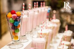 Ice Cream Soda Station - Della Terra Catering http://www.dellaterracatering.com/ // Rock Life Studio Photography http://www.rocklifestudios.com/