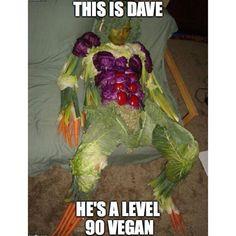 #vegan - Dave - level 90 vegan
