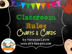 Printable classroom rules for pre-k, preschool, Head Start, childcare or kindergarten. Establish age appropriate rules and expectations for young children. Preschool Classroom Rules, Classroom Behavior, Classroom Procedures, Classroom Ideas, Positive Behavior Management, Classroom Management, Class Management, Pre K Pages, Back To School Organization