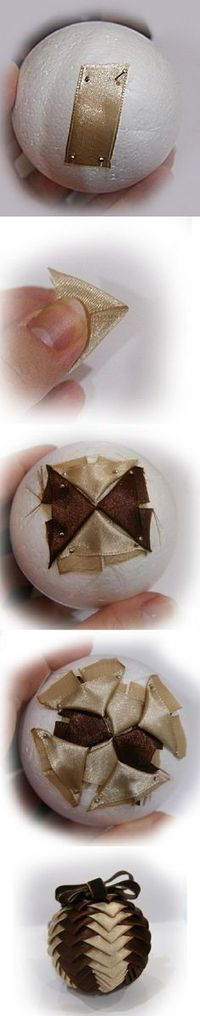 Decoración de bolas navideñas para tu arbol.. todo paso a paso!