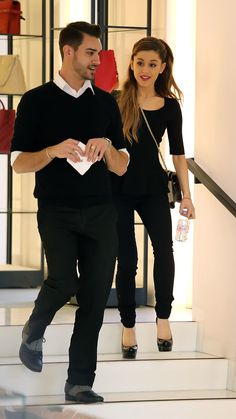 Ariana Grande Shopping At The Chanel Store