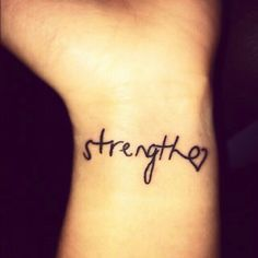 I'm not really into tattoos, but this is cute and simple!