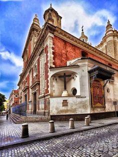 Buenos días, #Sevillahoy la Iglesia del Salvador. | #Tapasconarte
