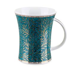 Porcelanowy kubek ''Dunoon/Richmond - Verona Teal""