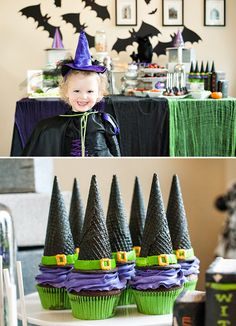 Monsters Ball Halloween Party {Bats, Witches & More!}