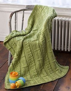 """Babes in the Wood"" baby blanket. Ravelry. Free pattern."