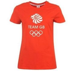2012 Team GB Olympic Rings T-Shirt for Ladies: Womens Sizes 20 or 22 Colour Poppy TEAM GB – Manufactured under licence by… #WrekinSportswear