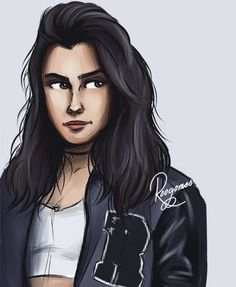 Lauren Jauregui drawing by @Roogomes Instagram
