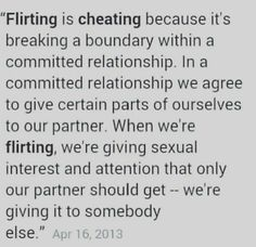 flirting vs cheating committed relationship quotes for another person
