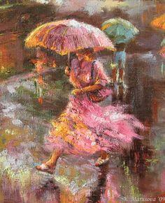 art-and-dream: Art painting wonderful style by Marusova Nataliуa