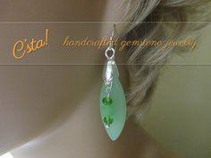 $19.00 Sea Glass Pendant & Earrings Set - Bring The Sea To You!