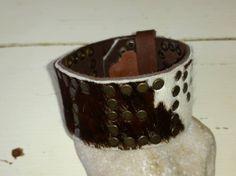 Leren armband Didem, Nailed It