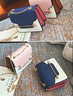 b6ac018014 Tassel Mental Chain Women Messenger Bag Ladies Crossbody Bags For Party  Handbag