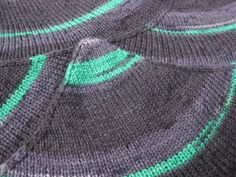Black wool infinity scarf multicolour black grey green by Renavere, $38.00