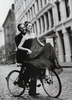 romance on a bike