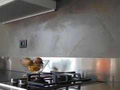 resine parete cucina