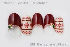 ブリリアントスタイル2013年12月号-冬ネイルコレクションNo.02