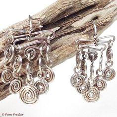 72 Best Handmade Earrings Images Earrings Handmade Wire Jewelry