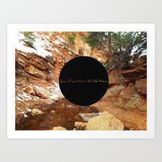 Wilderness  Art Print by Anna Bryant - $18.00