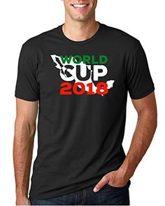 Amazon.com  Soccer World Cup 2018 T-shirt For Men Mundial Mexico 2018 83fc63779