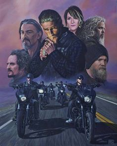 Sons of Anarchy is one of my guilty pleasures! I was so sad to see it end!
