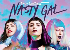 A marca de maquiagens e cosméticos M.A.C  está se juntando à marca Nasty Gal para criar quatro itens de beleza. Conheça!