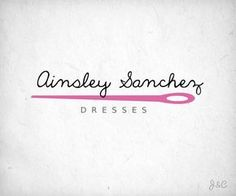 Premade+Vector+Logo+Indie+Seamstress+by+JaneAndCharlotte+on+Etsy,+$20.00