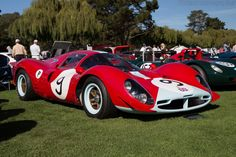 Endurance racing was dominated by Ferrari when John Cooper turned the racing world up side down with his mid-engined F1 racers in the late 1950s. Description from ultimatecarpage.com. I searched for this on bing.com/images