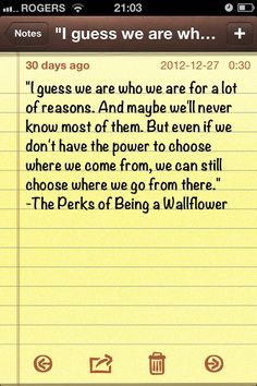 #perksofbeingawallflower #goodreads #books #quotes