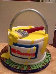 Decorators cake