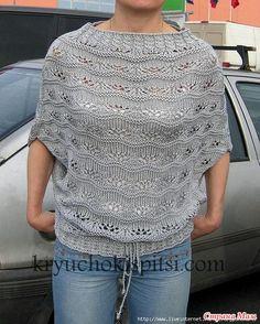 Пуловер-кимоно от Withmocha. Обсуждение на LiveInternet - Российский Сервис Онлайн-Дневников