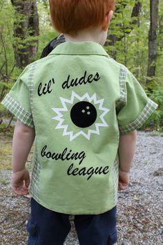 craftyNHmom: spring KCWC - little Lebowski bowling shirt - BOWLING SHIRT pattern!