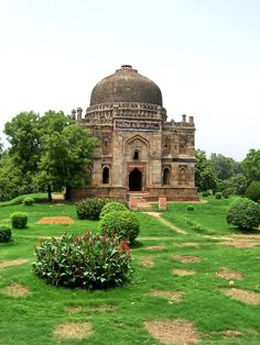 Lodi Garden - tomb of a Lodi King New Delhi New Delhi, Delhi India, Lodi Gardens, Places Around The World, Around The Worlds, India Architecture, New Background Images, Great Buildings And Structures, Amritsar
