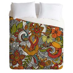 Valentina Ramos Ava Duvet Cover   DENY Designs Home Accessories     I like the color combo..