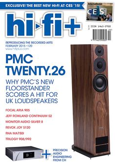 Hi-Fi+'s Feb issue includes CES coverage and equipment reviews including the PMC Twenty.26 floorstander, CH Precision D1, C1, Trilogy 908/992 preamp/amp, Obravo HAMT-1 headphones, Monitor Audio Silver 8 floorstanders, Myajima Kansai MC cartridge, Focal Aria 905 speaker, Revox Joy integrated streamer/amp and more. See this issue at www.EnjoyTheMusic.com/hifi_plus/