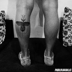 Phasme for Gio.  #PHASME #BLACK TATTOO #TATTOO #TATUAGEM #RIODEJANEIRO #BRASIL #BRAZIL #INSECT #LEG