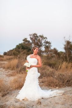 Paula and John's beautiful Beach Taverna wedding in Crete by The Bridal Consultant