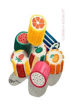 Watercolor Illustration. Watercolor Illustration, Bunt, Flora, Digital Art, Handmade, Paint Techniques, Papercutting, Wood Carvings, Gifts