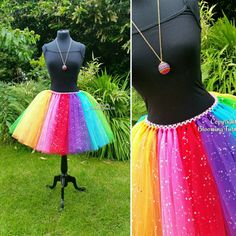 Hey, I found this really awesome Etsy listing at https://www.etsy.com/listing/400362113/adult-rainbow-coloured-sparkly-knee
