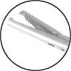 Pinça Hartmann Com Dente p/ Corpo Estranho 9cm