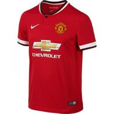 Nike Youth Manchester United Soccer Jersey (Home @ SoccerEvolution Best Football Team, Football Kits, Manchester United Stadium, Kids Soccer, Nike Store, Man United, Kids House, Nike Men, Kids Outfits